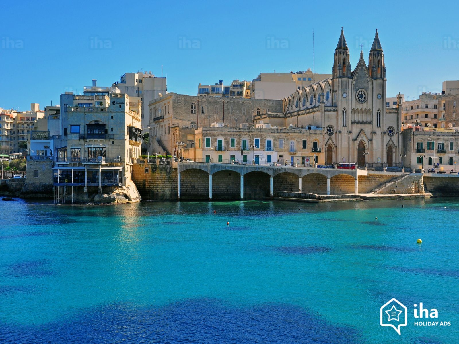 Malta-View-of-st-julian-on-the-island-of-malta
