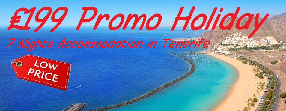 CHEAP HOLIDAY TENERIFE
